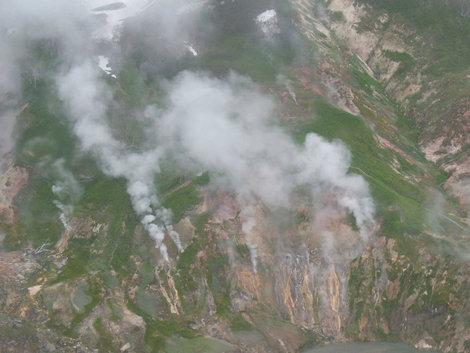 Долина вид с Вертолета