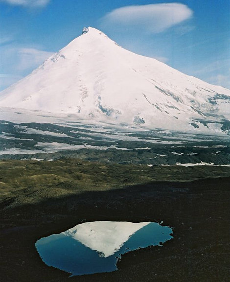 Вид от кратера Срединного