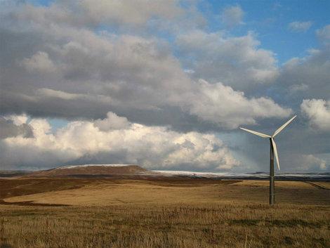 Ветряк возле села Никольское.