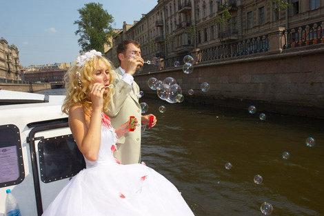 А это фото с нашей свадьбы.
