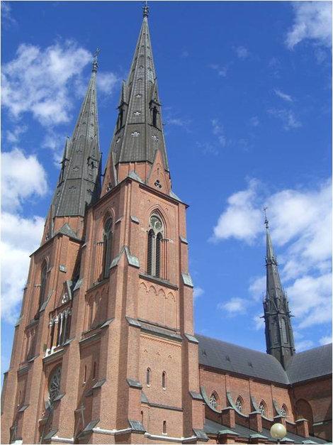 Готический собор в Уппсале