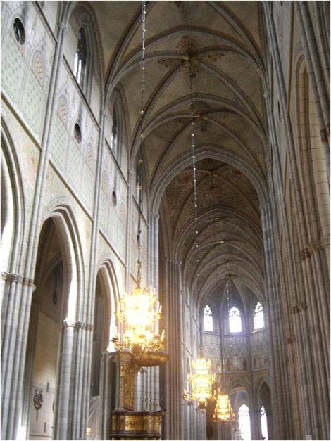 Масштабы готических соборов