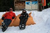Отдыхаю после лыж))