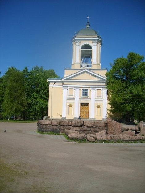 Лютеранская кирха Св. Петра и Павла.