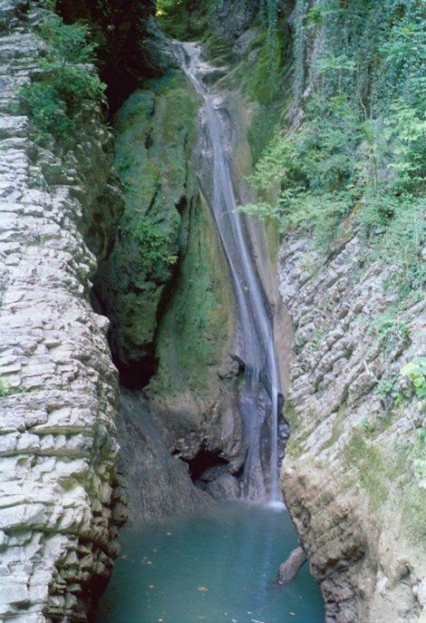 01. Первый водопад 16 метров