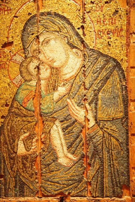 Византийская икона 13 века