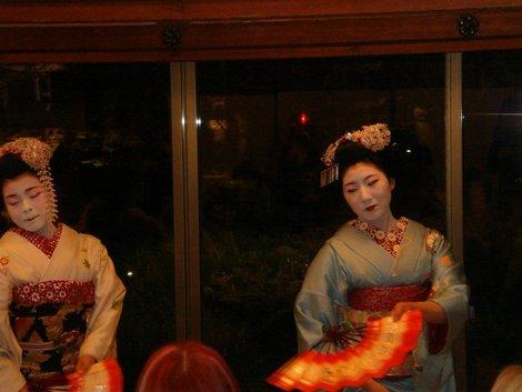 Ужин с гейшами