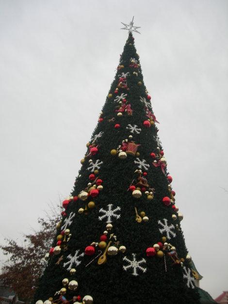 Вечный праздник Диснея — уже елка!
