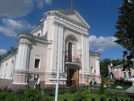 Костел святой Варвары в Бердичеве