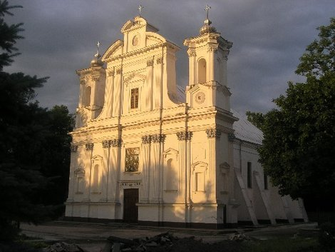 Костел в Коростышеве