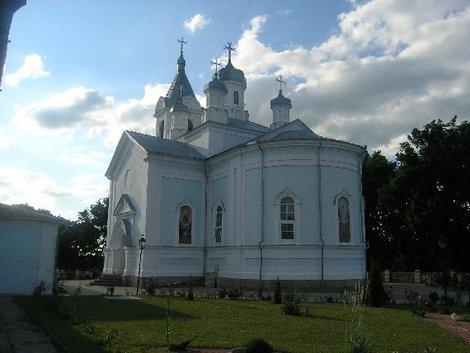 Монастырь в Тригорье