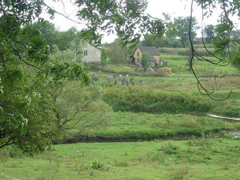 Вид на старое еврейское кладбище