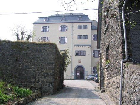 Вход в ресторан в замке Вестербурга