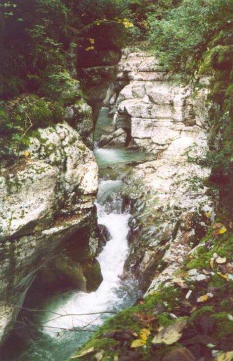 Каньон Белые скалы