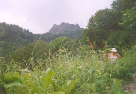 Ачишхо с Круглой поляны