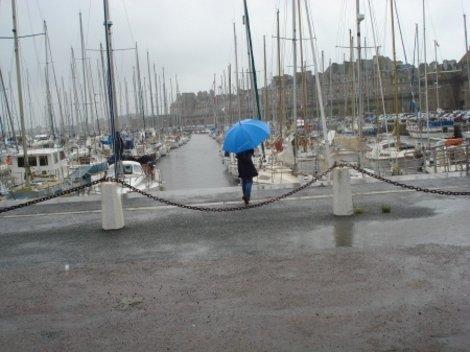 Порт в Сен Мало