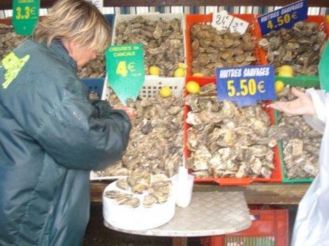 Устричный базар в Канкале