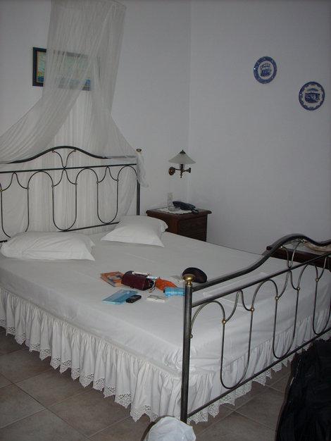 Наши аппартаменты. Остров Милос, Греция