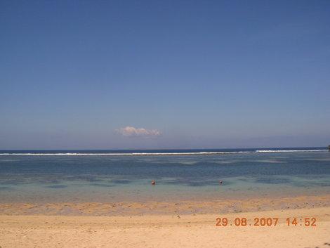Пляж отеля The Westin Resort 5* во время отлива