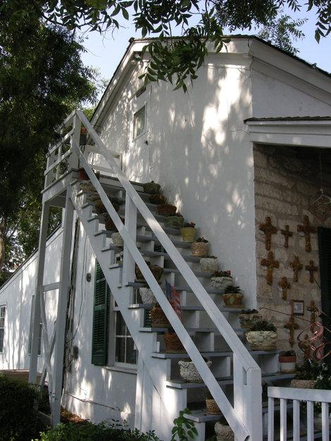 Дом, где ролился адмирал Честер Нимиц.