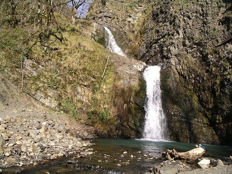 1 и 2 Змейковские водопады