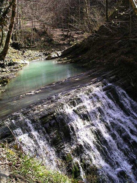 яма для купания выше шестого водопада