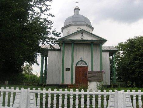 Церковь в Ружине