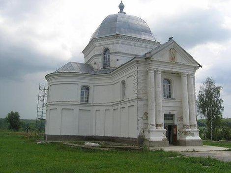 Церковь в Старостинцах