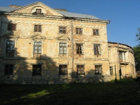 Усадьба в Вороновице (садовый фасад)