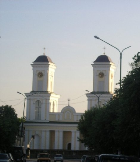 Костел в Немирове