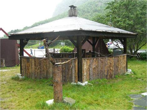 В деревне викингов