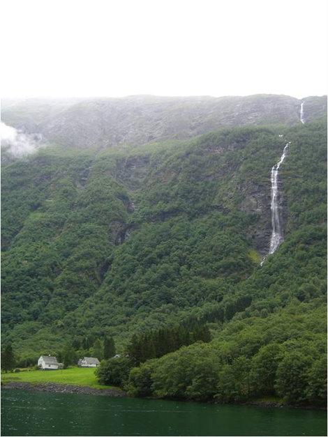 Возле водопада