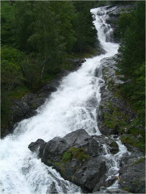 Водопад совсем рядом