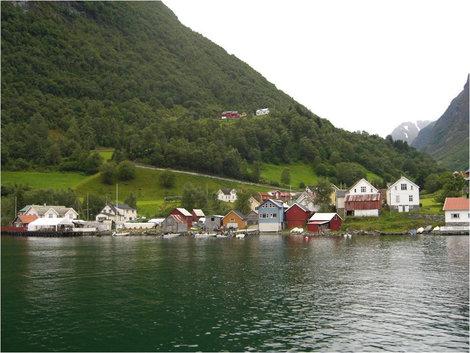 Норвежский городок