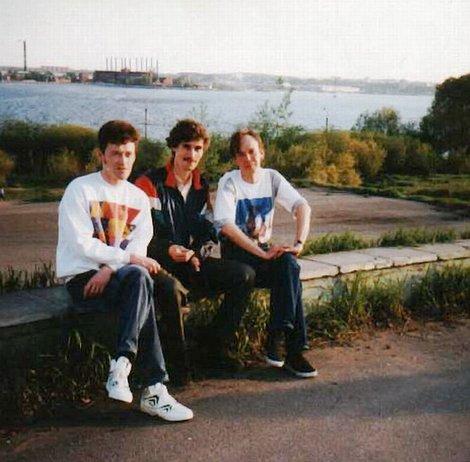 панорама на Ижевский пруд