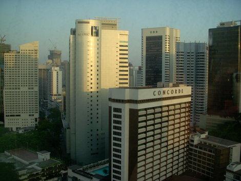 Вид из номера отеля Renaissance Hotel 5*