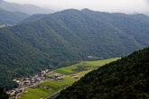 Вид с горы на долину