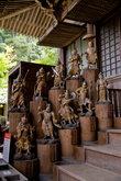 На лестнице Тёкуган-до — храма короля мудрости Фудо Мё-о