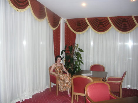 Территория и рестораны отеля Прометей клуб