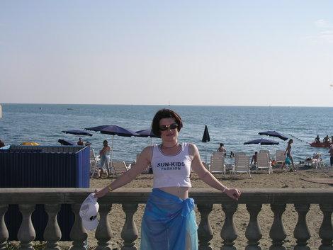 Пляж рядом с отелем Прометей клуб