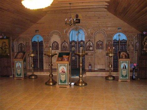 Территория Троице-Георгиевского женского монастыря. Храм Иконы Божией Матери Песчанской
