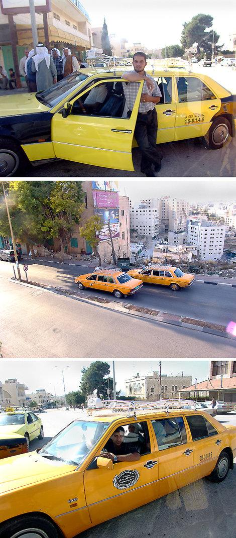 Палестина — страна трехдверных мерседесов. Ездят здесь по-восточному лихо, да еще и по очень узким дорогам.