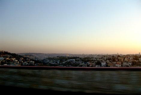Наконец, вечером мы увидели Иерусалим.