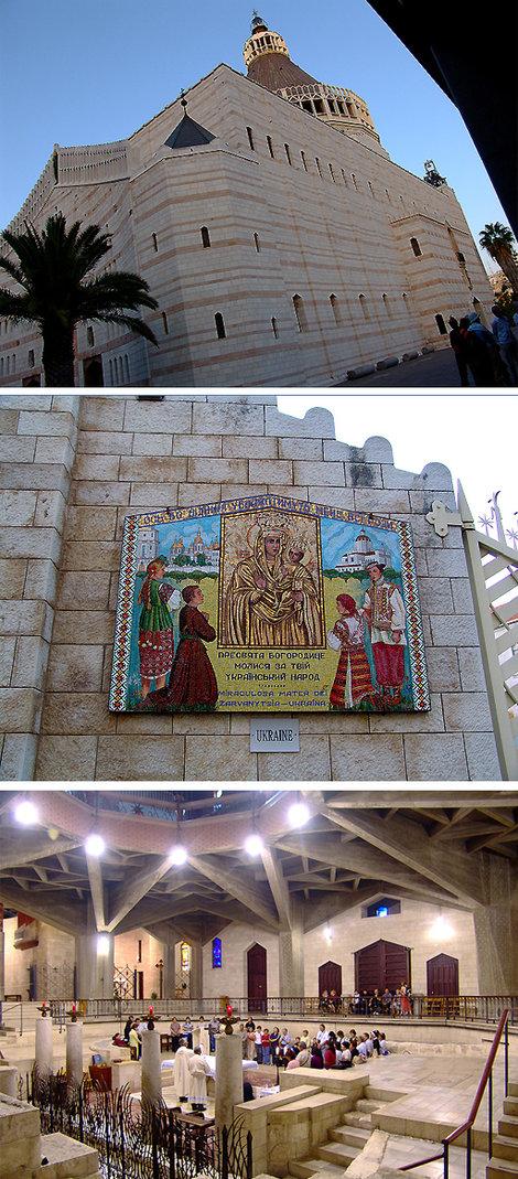 Базилика Благовещенья — одна из самых величественных и больших католических церквей Святой Земли.