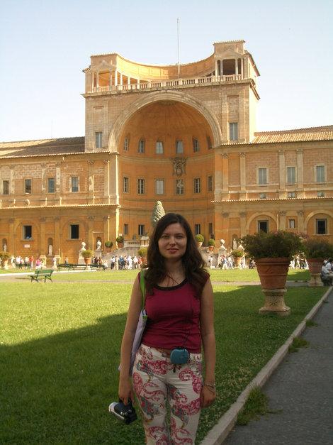 На территории Ватикана