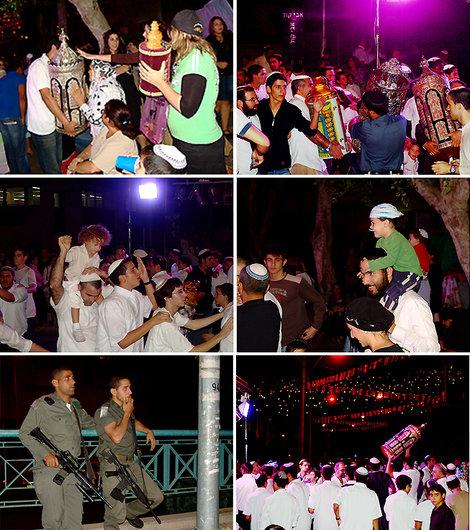 В дни нашего путешествия иудеи отмечали Шмини Ацерет или Симхат Тора — праздник Торы.