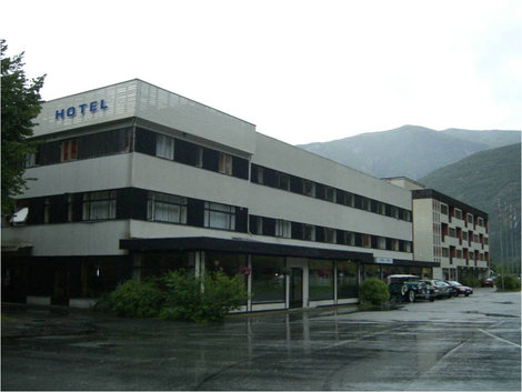 Здание отеля снаружи