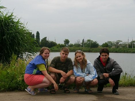 Наша компания в Краснодаре на Карасунских озерах