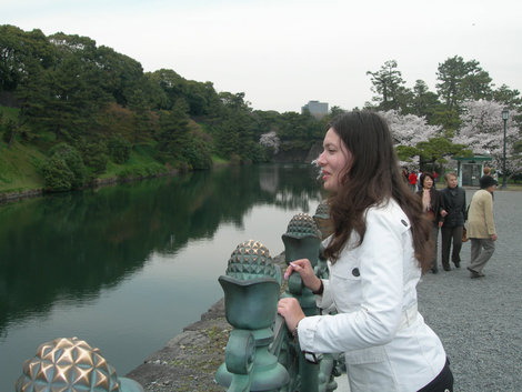 прогулка около Императорского дворца
