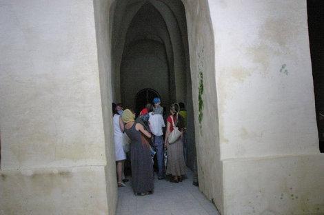 Пещерный храм внутри